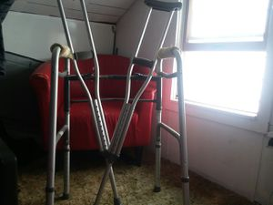 Walker and crutches for Sale in Lebanon, PA