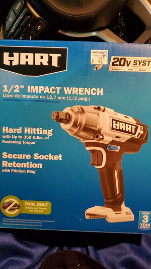 "Hart 1/2"" impact wrench for Sale in Leander, TX"