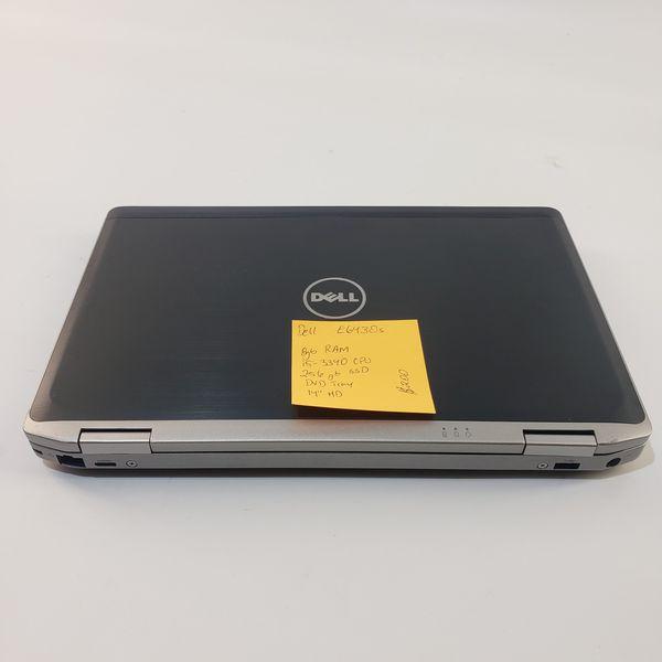 Dell E6430s Laptop Webcam Wifi 8gb RAM 256gb SSD Windows