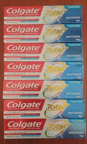 Colgate whitening toothpaste $2.50 for Sale in San Jose, CA