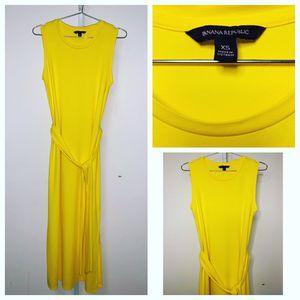 Banana Republic | Yellow Knit Tank tie Dress for Sale in Wheaton, MD