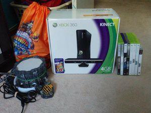 Xbox 360 kinect orig. Box w/ games for Sale in Woodbridge, VA