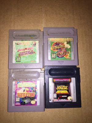 4 arcade nintendo gameboy games for Sale in Los Angeles, CA