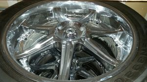 """22"""" chrome rims for Sale in Bothell, WA"""