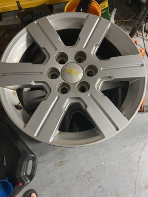 18 inch Chevy rims for Sale in Port St. Lucie, FL