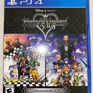 Kingdom Hearts HD 1.5 & 2.5 Remix for Sale in Las Vegas, NV