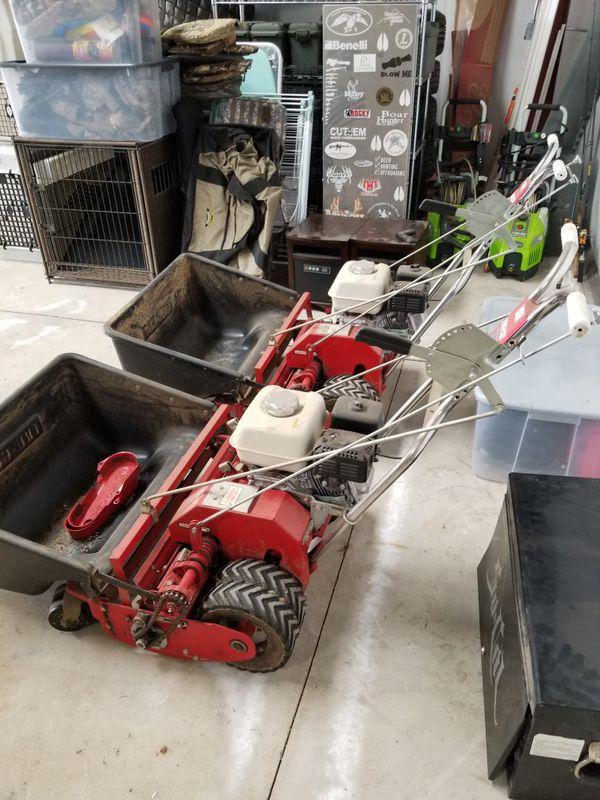 Tru Cut C 27 Reel Mowers For Sale In Clovis Ca Offerup