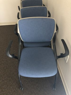 Rolling stackable office or sitting room chairs for Sale in Midvale, UT