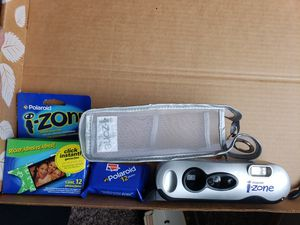 Polaroid Izone camera with mesh bag and film for Sale in Federal Way, WA