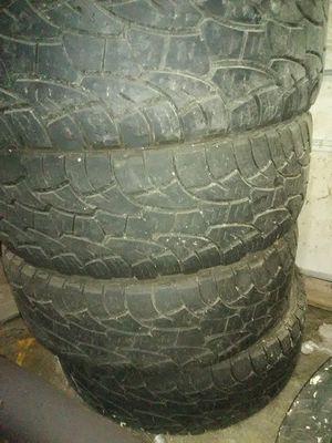 Cooper discoverer atp/load e/ tires,285/70/17 for Sale in Jackson, NJ