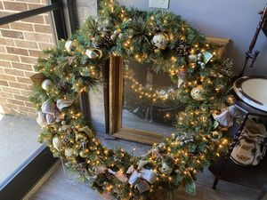 Huge Christmas Wreath for Sale in Youngsville, NC