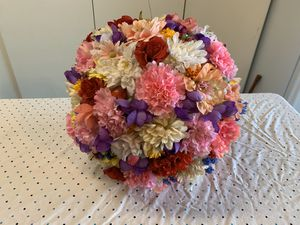 Large Artificial Flower Ball Floral Decoration for Sale in Vista, CA
