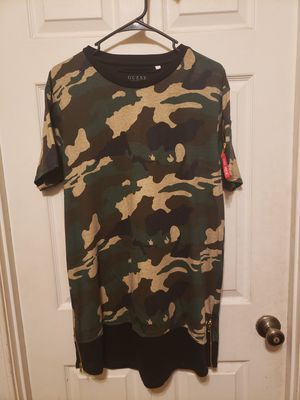 Guess Camo Shirt (Large) for Sale in Chula Vista, CA