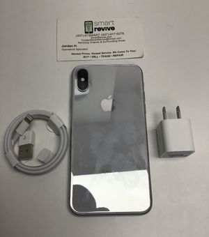 iPhone X 256GB Unlocked White for Sale in Orlando, FL