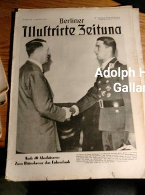 Hitler----A Galland newspaper for Sale in Sioux Falls, SD