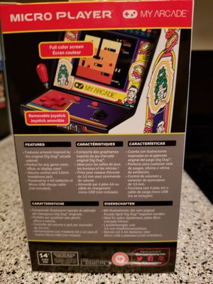 Dig bug arcade video game namco for Sale in Los Angeles, CA