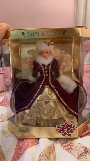 1995 Special Edition Happy Holiday Barbie Doll for Sale in Strongsville, OH