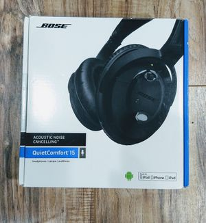 Bose® QC-15 QuietComfort Acoustic Noise Canceling Headphones for Sale in Glendale Heights, IL