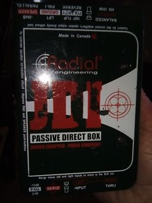 Radial engineering JDI PASSIVE direct box for Sale