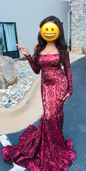 Sequenced Prom Dress for Sale in McDonough, GA