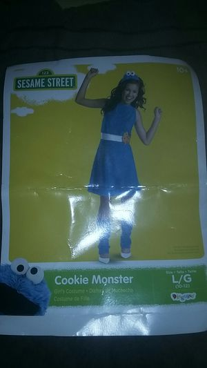 cookie monster costume for Sale in Winter Haven, FL