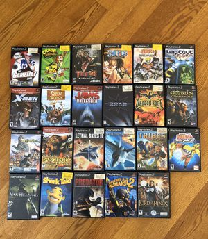 Play station 2 games for Sale in Winfield, IL
