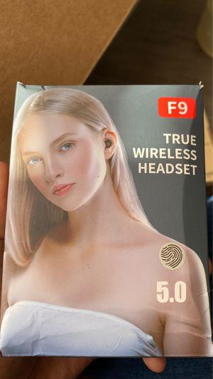 F9 true wireless headset for Sale in Houston, TX