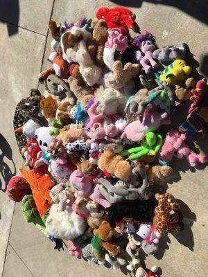 kids stuffed animals - LOT (105) for Sale in Etiwanda, CA