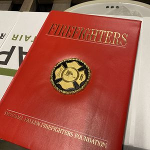 Firefighter Coffee Table Book for Sale in Issaquah, WA
