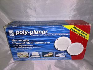 POLY-PLANAR SPEAKERS! MA-4055 Integral Grill Speakers... ( Boat, Yacht, Buggy or RV) for Sale in Jupiter, FL