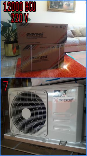 Air conditioner AC Split Minisplit Mini split Brackets 🏳️🌈 12000 BTU o 1 tonelada ‼️💥💯 for Sale in Hialeah, FL