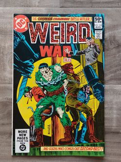 Weird War Tales #102 Comic Book for Sale in West Covina,  CA