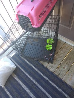 Dog crate! for Sale in Mustang,  OK