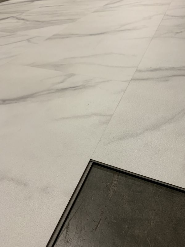"""Carrera marble tiles 12""""x 24"""" click pad attached"""