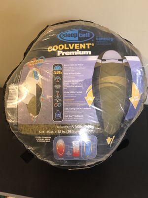 Sleep Cell Coolvent Premium Sleeping Bag for Sale in Marietta, GA
