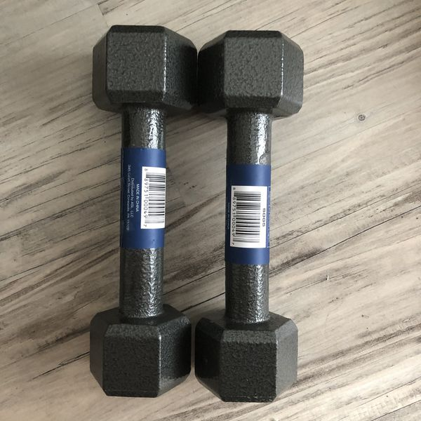 Cast Iron Hex Dumbbells (10 Pounds) *BRAND NEW*