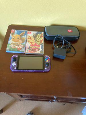 Custom Switch Lite Pokemon Bundle for Sale in San Diego, CA