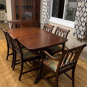 Duncan Phyfe Dining Set for Sale in Alsip, IL
