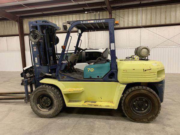 Forklift Kumatsu for sale only 2000 h