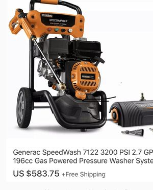Gas pressure washer. for Sale in Dinuba, CA
