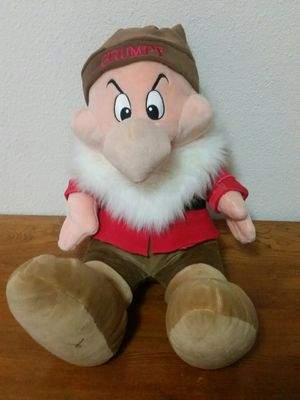 "26"" Disney grumpy plush doll for Sale in Vancouver, WA"