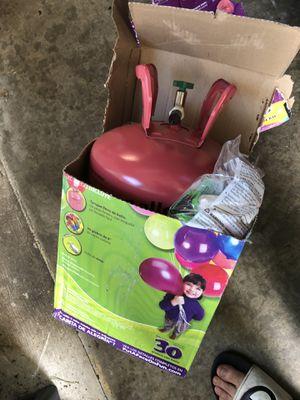 Balloon helium tank kit $10 for Sale in Renton, WA