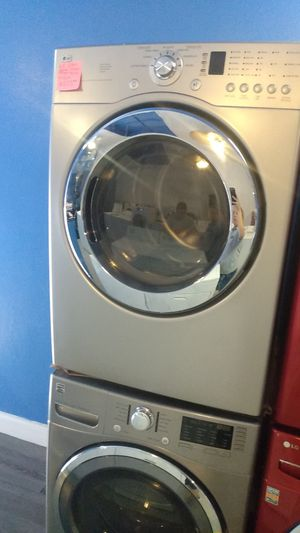 LG front load electric dryer and Kenmore front load washer working perfectly 4 months warranty for Sale in Baltimore, MD