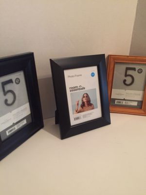 Set of Three 5x7 Picture Frames for Sale in Greensboro, NC
