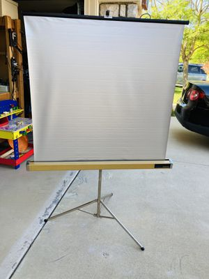 Projector screen for Sale in San Diego, CA