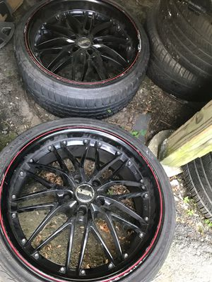 Rims and tires for Sale in Brockton, MA