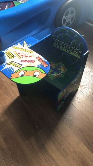 Tmnt toddler desk for Sale in Levittown, PA