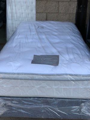 TWIN SIZE ORTHOPEDIC EURO PILLOW-TOP BED BRAND NEW SUPER COMFY MATTRESS for Sale in Chula Vista, CA