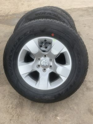 "18"" inch RIMS AND Goodyear Tires RAM 1500, 2015 and UP! for Sale in Kennedale, TX"