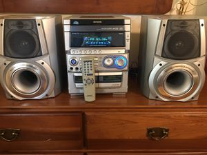 AIWA STEREO SYSTEM has speakers with subwoofer. for Sale in Euless, TX